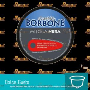 Borbone Miscela Nera 15 Capsule Compatibile Dolce Gusto