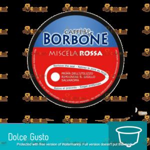 Borbone Rossa 15 Capsule Compatibile Dolce Gusto
