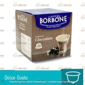Borbone Cioccolata 16 Capsule Dolce Gusto