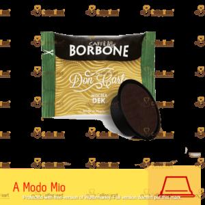 Borbone Miscela Dek 100 Capsule A modo Mio