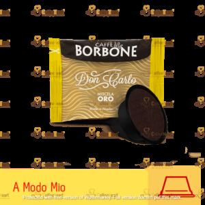 Borbone Miscela Oro 100 Capsule A modo Mio