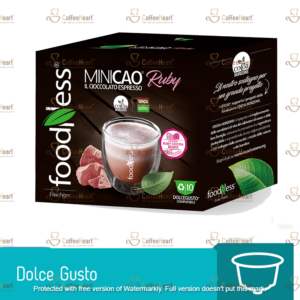 Foodness Minicao Ruby 10 Capsule Dolce Gusto
