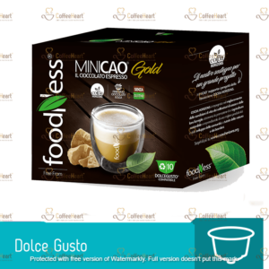 Foodness Minicao Gold 10 Capsule Dolce Gusto