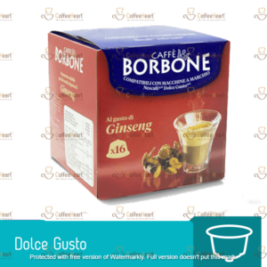 Borbone Ginseng 16 Capsule Dolce Gusto