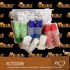 kit bio da 150 zucchero palette bicchierini caffe neutro