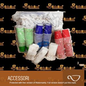 Coffee Heart Kit Accessori Biologico 150