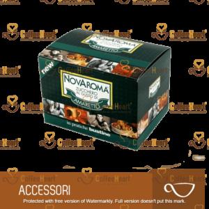Novarese Zucchero Aromatizzato Amaretto 50 Bustine