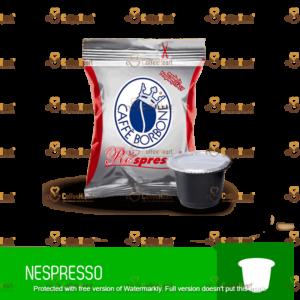 Borbone Miscela Rossa 100 Capsule Nespresso