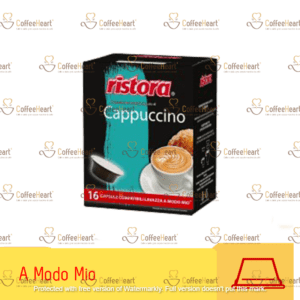 Ristora Cappuccino 16 Capsule A Modo Mio