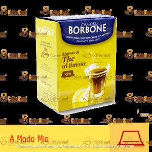 Borbone The al Limone 16 Capsule A Modo Mio