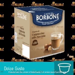 Borbone Cappuccino alla Nocciola 16 Capsule Dolce Gusto